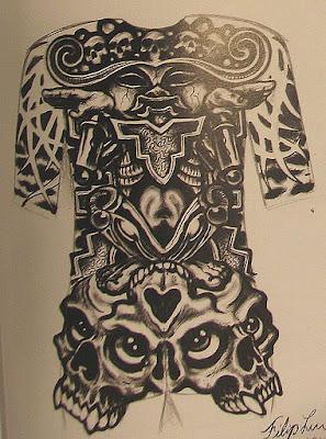 full back piece tattoo designs. Black Bedroom Furniture Sets. Home Design Ideas
