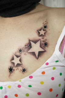 star tattoos women picture