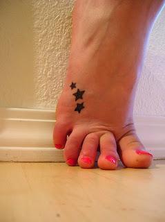 Star Tattoo Foot