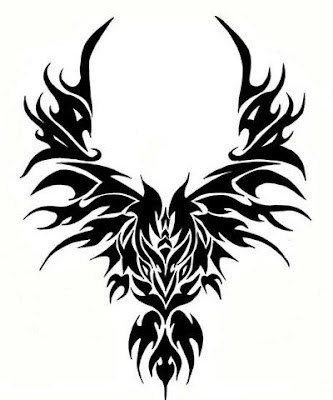 phoenix bird tattoo design. Free Phoenix Tattoo Design pictures