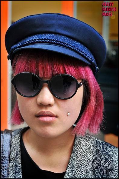 Pink Hairstyles Singer