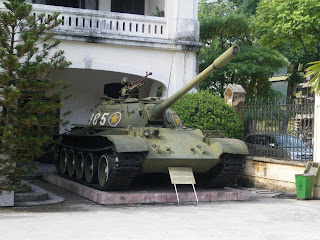 A war museum in Vietnam