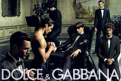 Here is the complete Dolce & Gabbana Menswear Spring 2009 ad campaign by ...