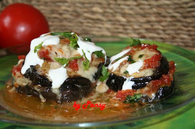 Articole culinare : Vinete cu mozzarella si gorgonzola