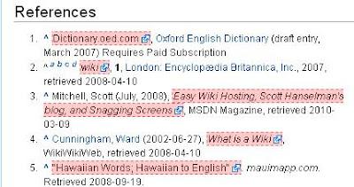 Wikipedia post