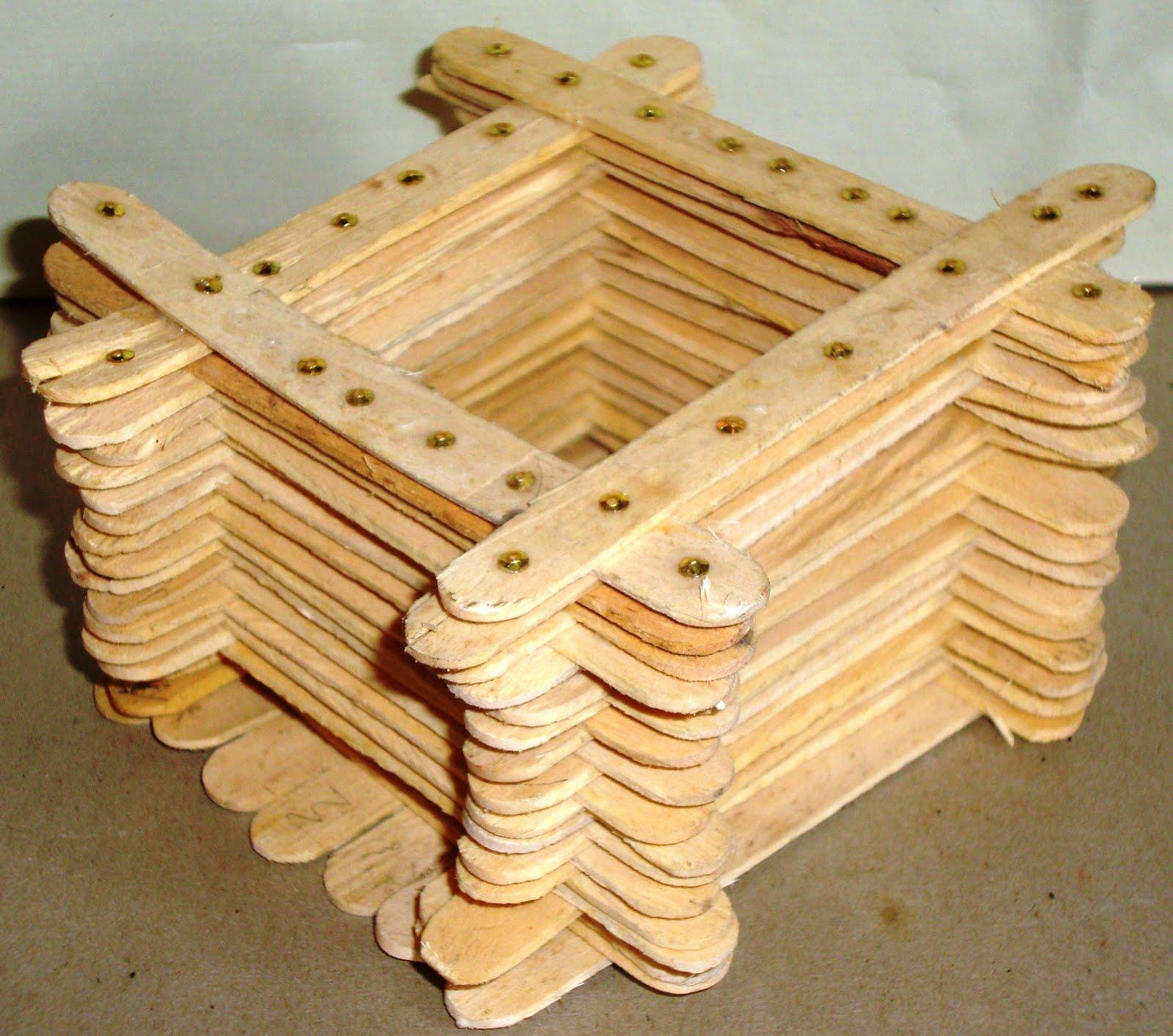 My crafts craft with icecream sticks for Ice cream sticks craft