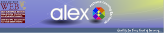 Alex homepage logo