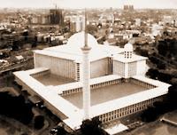 Foto Gambar Masjid Niat Rukun Sunnah Syarat Shalat Ied Waktu Idul Fitri Mesjid Istiqlal Jakarta Indonesia