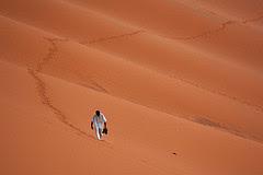 Hundirse en la arena