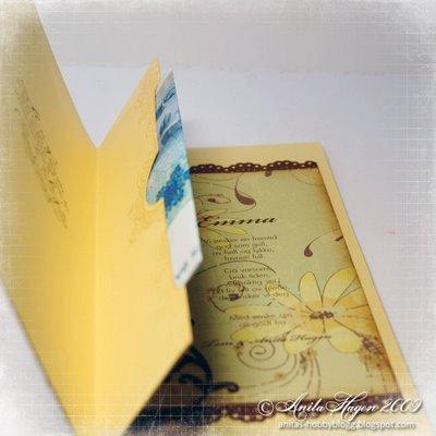 МК открытка-конверт