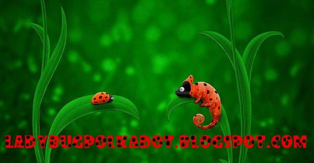 ladybird terbang mencari cerite ,