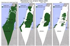 Perdua de territoris palestins