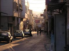 Un carrer del camp de refugiats de Jenin