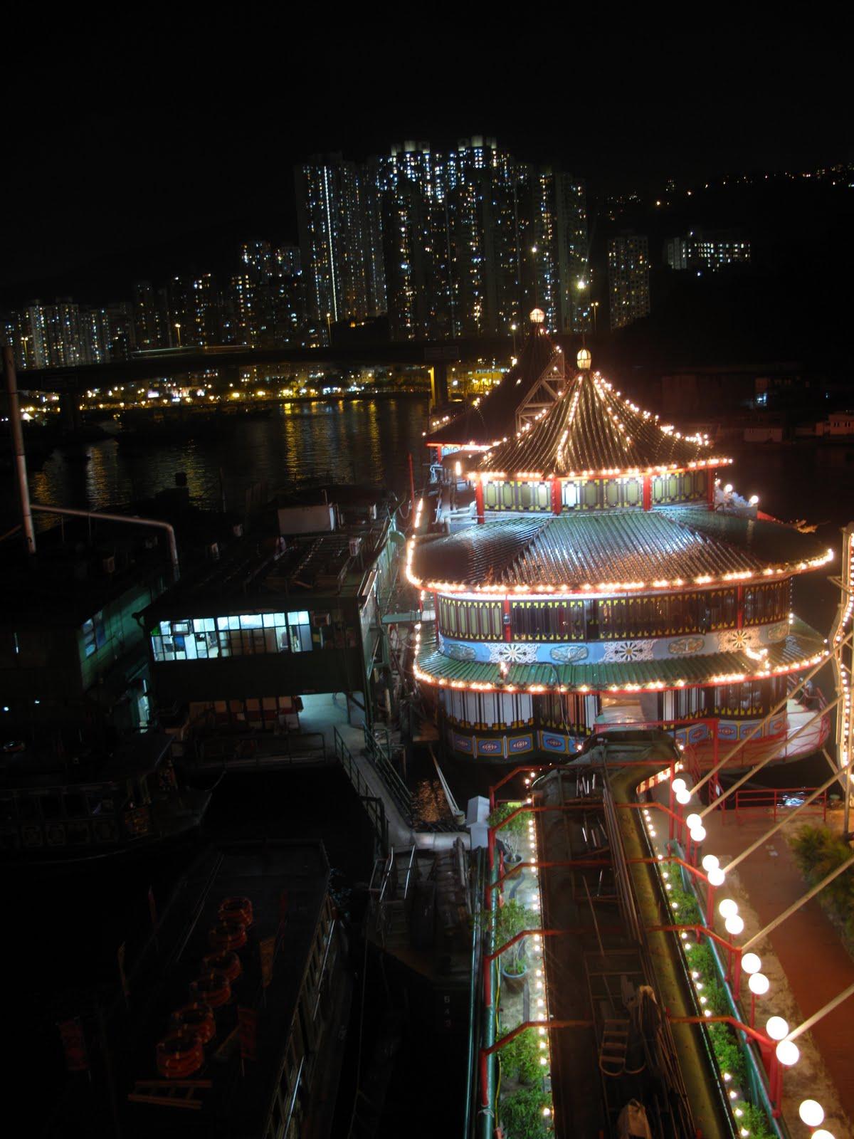 珍寶海鮮舫 top deck