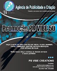 Promoção PB VIBE 50