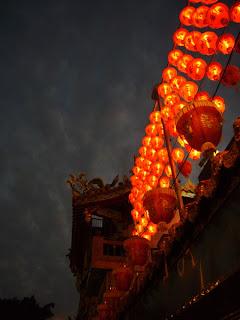 Fêtes des lanternes au temple de Guandu