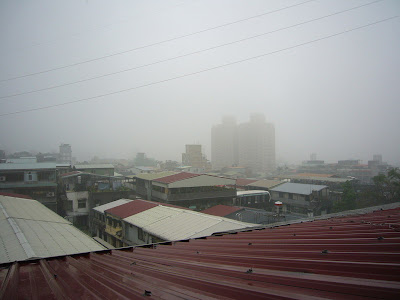 Taipei sous la pluie