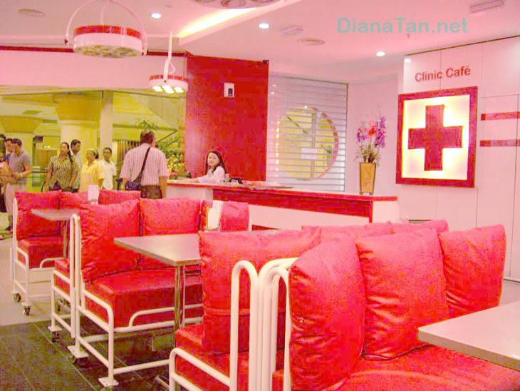 Best Asian Food: Dinner at Clinic Cafe - A Hospital Themed Restaurant