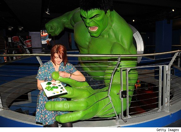 D Exhibition London : Marvel super heroes d opens at madame tussauds museum
