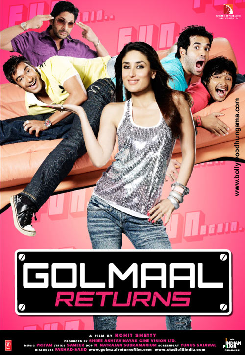 Golmaal 3 Indian Bollywood Movie In Guinness Record Book