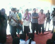 Menteri komunikasi dan informasi berada di pekanbaru - Helat Blogger Riau