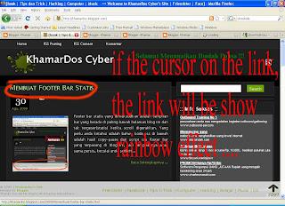 Membuat Effect Pelangi Pada Link | Khamardos's Blog