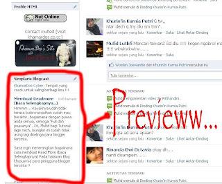 Menghubungkan Facebook dengan Blog Kita - simplaris blodcast   Khamardos's Blog
