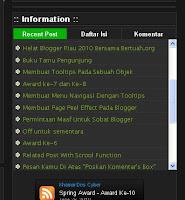 Membuat Tab View Pada Blogspot - khamardos blog