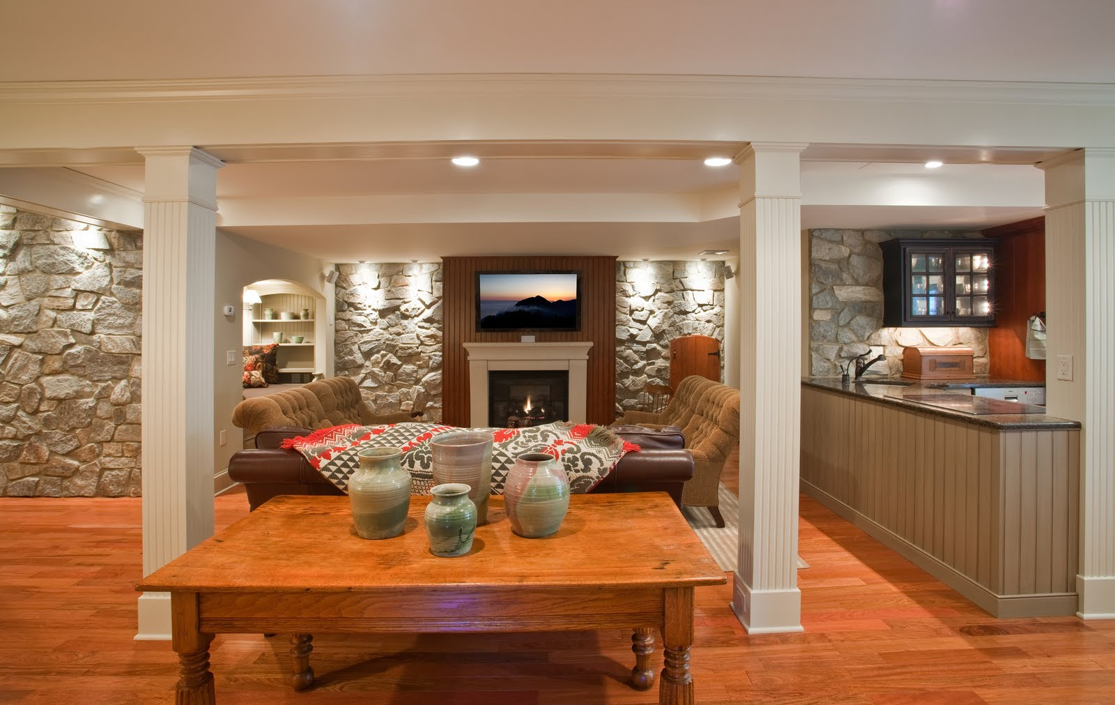 Gracious Interiors: Basement Becomes Lower-Level Suite
