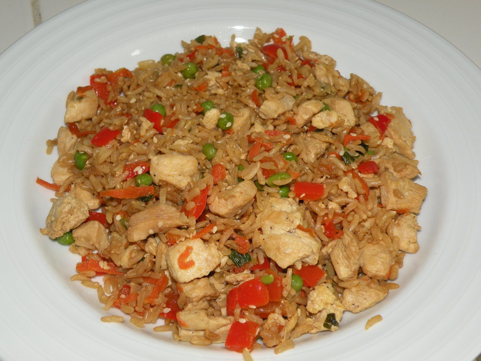 Healthy and Easy Recipes: Chicken Fried Rice
