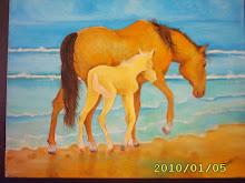 óleo sobre tela ( 35 x 45 cm )