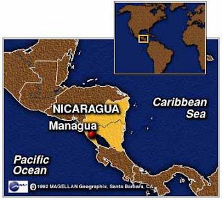 NicaraguaLocation