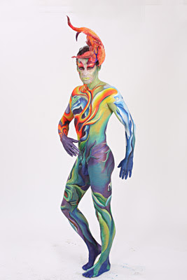 Amazing Body Art from the 2008 World Bodypainting Festival in Daegu, South Korea