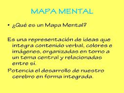 MAPA MENTAL I