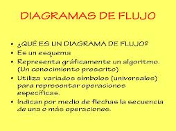 DIAGRAMAS DE FLUJO I