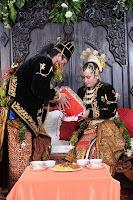 prosesi panggih pengantin jawa