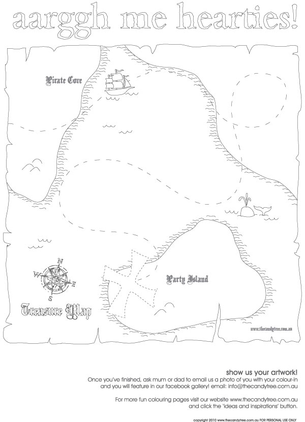 treasure map coloring sheet image search results