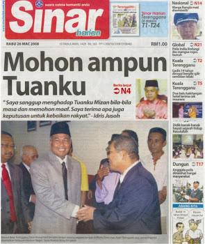Hari Pertama Dato' Ahmad Said di Wisma Darul Iman
