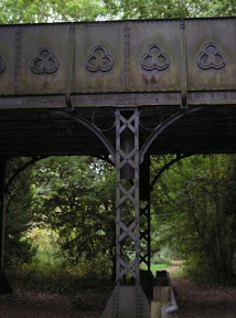 A bridge across the former Midland and Great Nothern Joint Railway.