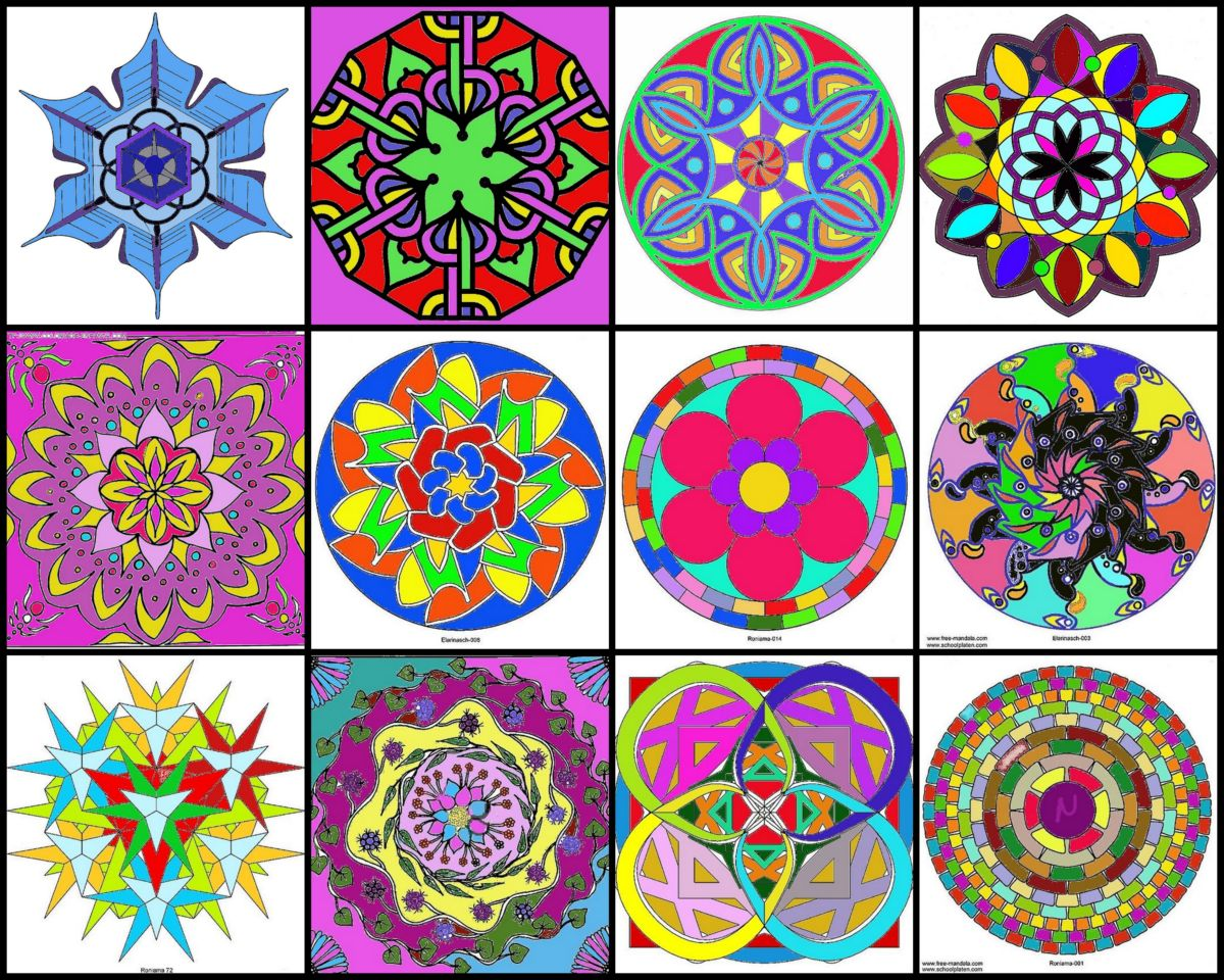 Today mandalas are entering into medicine as a healing tool researchers and many physicians - Mandalas signification formes ...