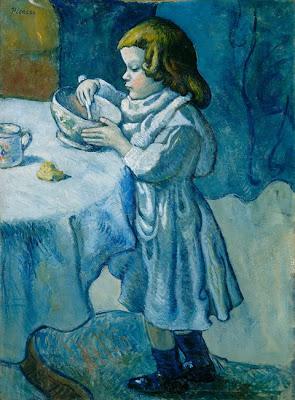La golosa, Picasso (Època blava)