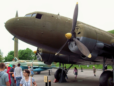 Винтовой самолет