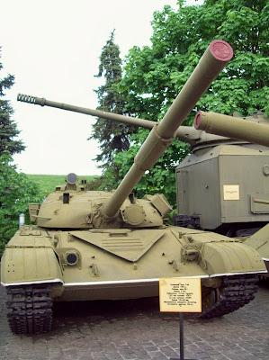 Один из танков экспозиции музея ВОВ