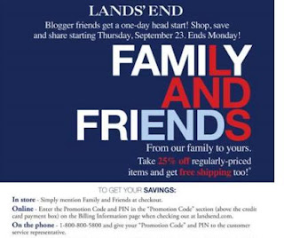 lands+end Lands End Friends and Family Sale