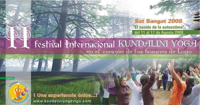 Festival Internacional Kundalini Yoga en Galicia 2008