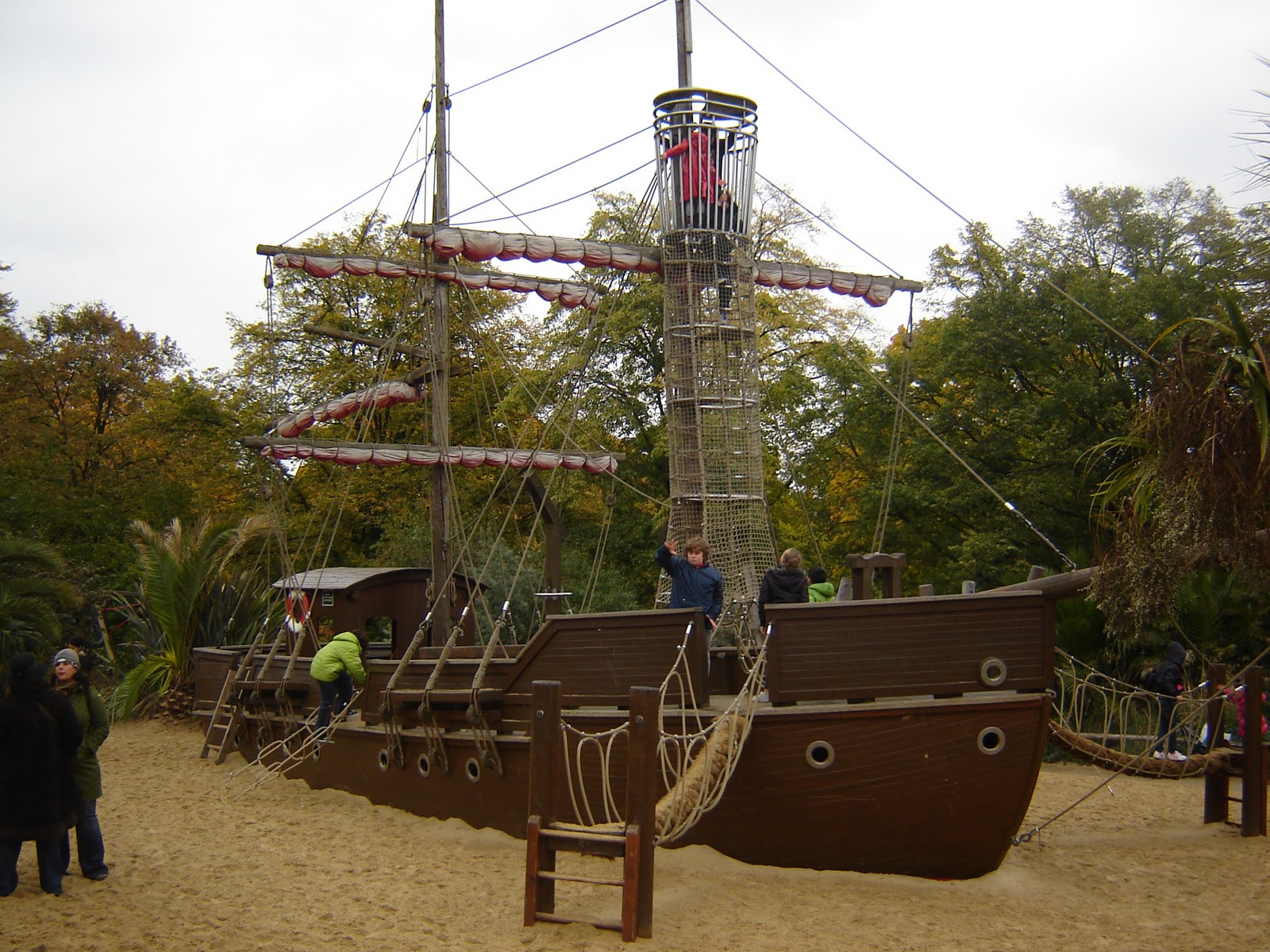 Pirate boat building boat design forums - Pirate ship wooden playground ...