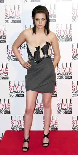 Teen Vogue said: Kristen Stewart is at 10 BestDress : February 2010