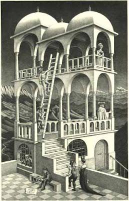 Belvedere de Maurits Cornelius Escher