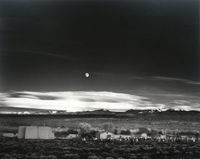 ansel adams photography. Ansel Adams, Moonrise