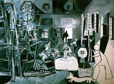 Las Meninas (Domnisoarele de onoare) de Pablo Picasso